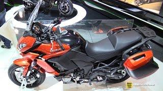 2015 Kawasaki Versys 1000 - Walkaround - 2014 EICMA Milan Motorcycle Exhibition