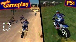 Freestyle Motocross: McGrath vs. Pastrana ... (PS1) 60fps