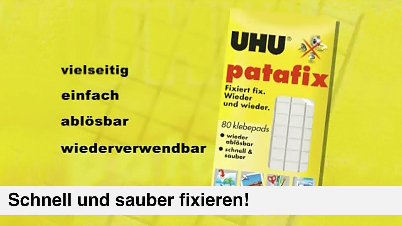 Patafix – Die wieder ablösbare Klebeknete von UHU