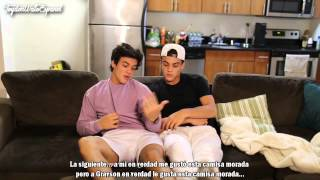 The Ups And Downs Of Being A Twin Subtitulado en Español [Dolan Twins][Grayson&Ethan]