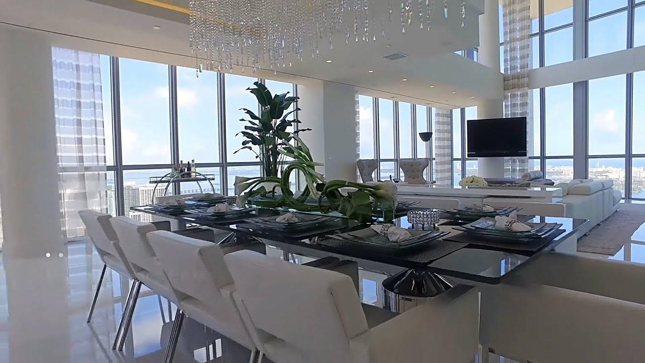 Luxury Penthouse Marquis Condo 13 900 000 Miami 1100