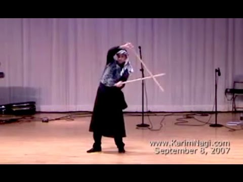 Karim Nagi performs Tahteeb (Saidi Egyptian cane dance)