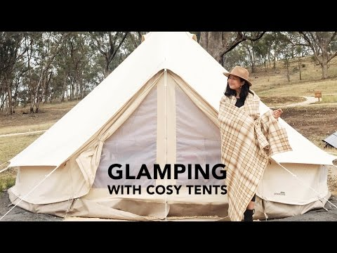 Travel Vlog: Glamping In Daylesford Australia With Cosy Tents