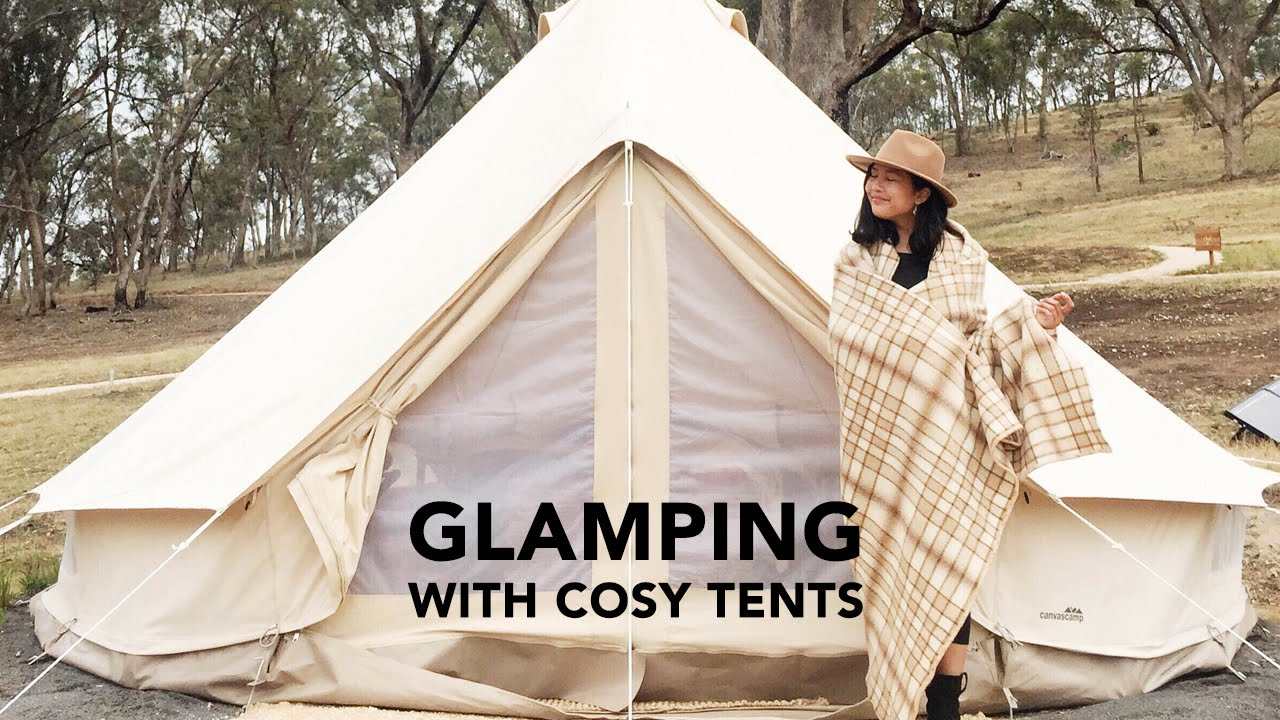 Travel Vlog Gl&ing in Daylesford Australia with Cosy Tents - YouTube & Travel Vlog: Glamping in Daylesford Australia with Cosy Tents ...