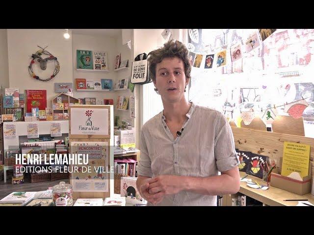 Les éditions Fleur de Ville à la librairie Au Temps Lire