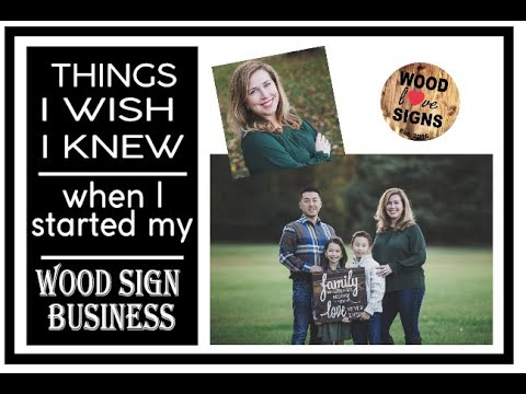 Things I Wish I Knew When I Started My Wood Sign Business, Vinyl Cutter Supplies, My Products I Use