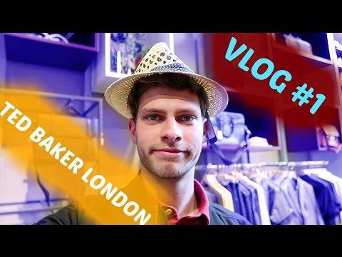 MIJN EERSTE VLOG - opening Ted Baker outlet store || Pieter de Gans