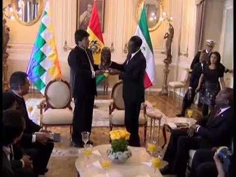 Bolivia y Guinea Ecuatorial firmaron acuerdos