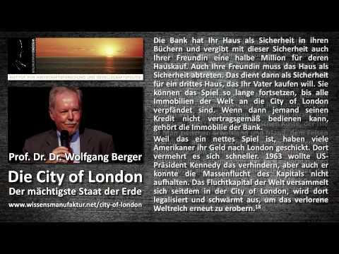 Wolfgang Berger - Die City of London