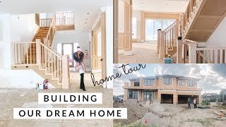 BUILDING OUR DREAM HOME!!🏠FULL TOUR EPISODE 1