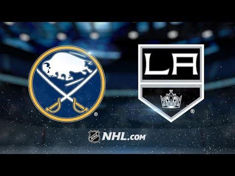 Buffalo Sabres Vs. Los Angeles Kings | NHL Game Recap | October 14, 2017 | HD