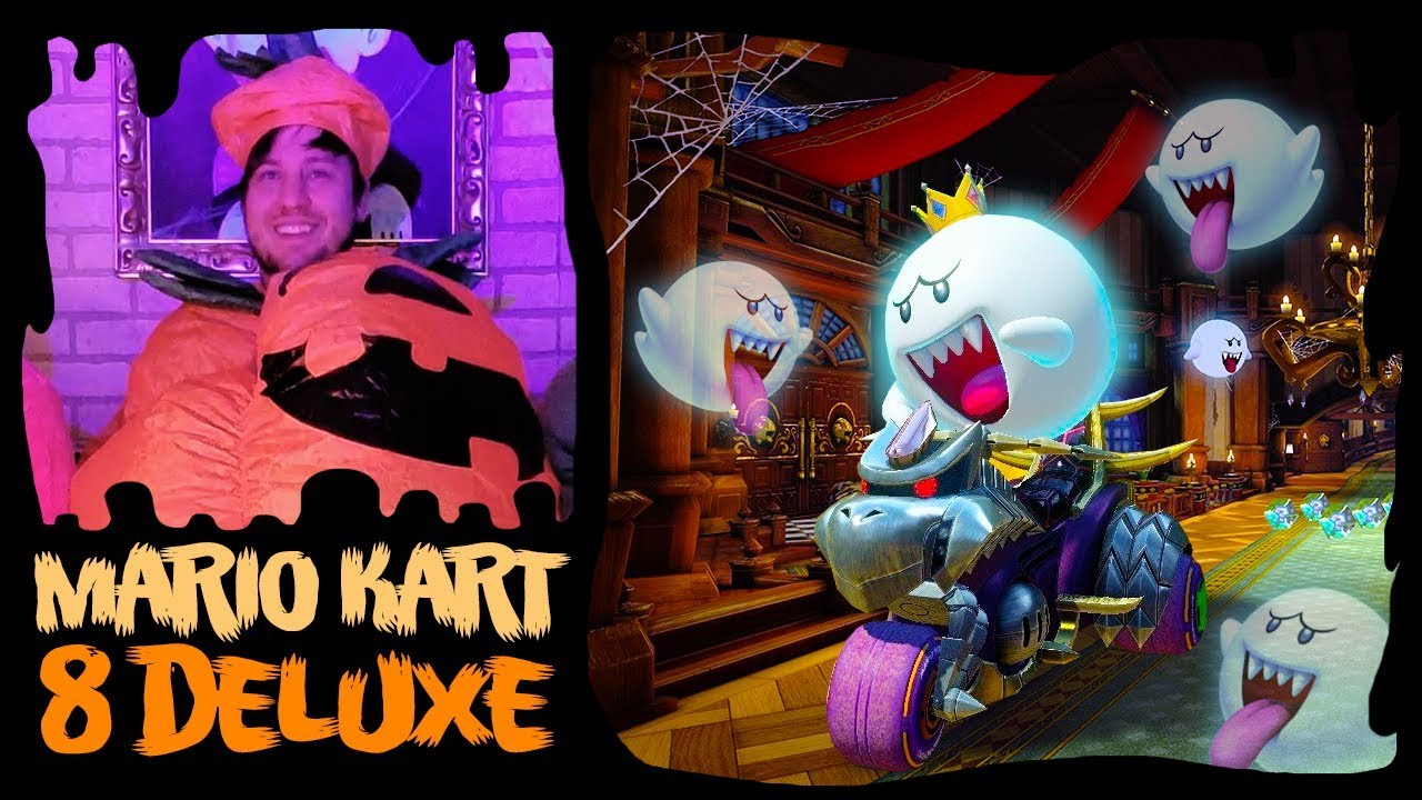 🎃 Halloween Mario Kart 8 Deluxe Spookiness! 🎃 [THE FOLD]