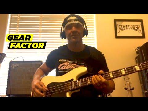AEW Wrestler Frankie Kazarian Plays His Favorite Bass Riffs