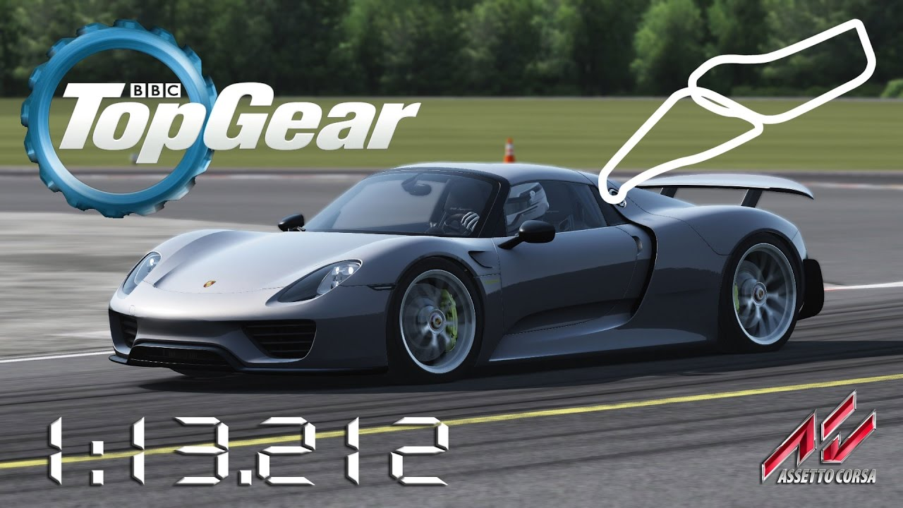 assetto corsa 2015 porsche 918 spyder weissach package. Black Bedroom Furniture Sets. Home Design Ideas