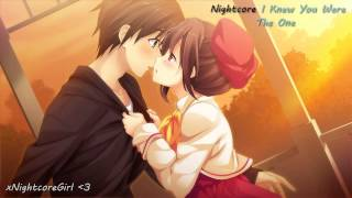 Repeat youtube video ♫ Nightcore ♫ - I Knew You Were The One (Tiffany Alvord)