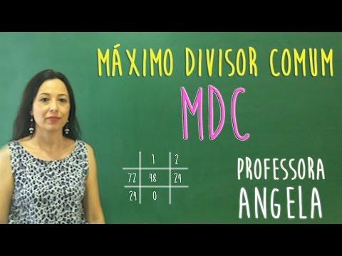 MDC - VIVENDO A MATEMÁTICA COM A PROFESSORA ANGELA
