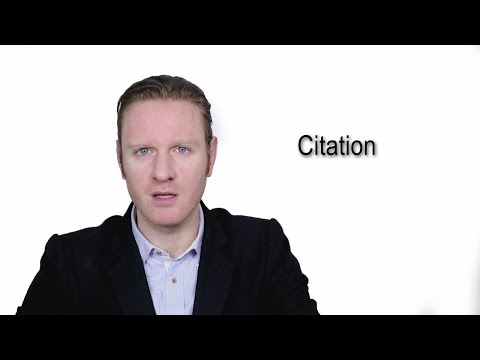 Citation - Meaning | Pronunciation || Word Wor(l)d - Audio Video Dictionary