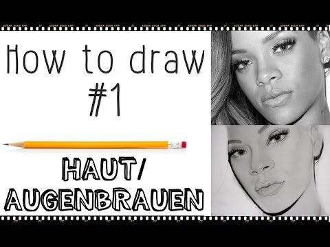 TUTORIAL #4 Haut/Augenbrauen zeichnen