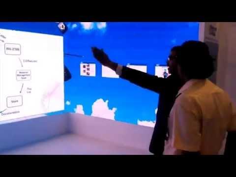 Gesture Based Product Presentation at HAL