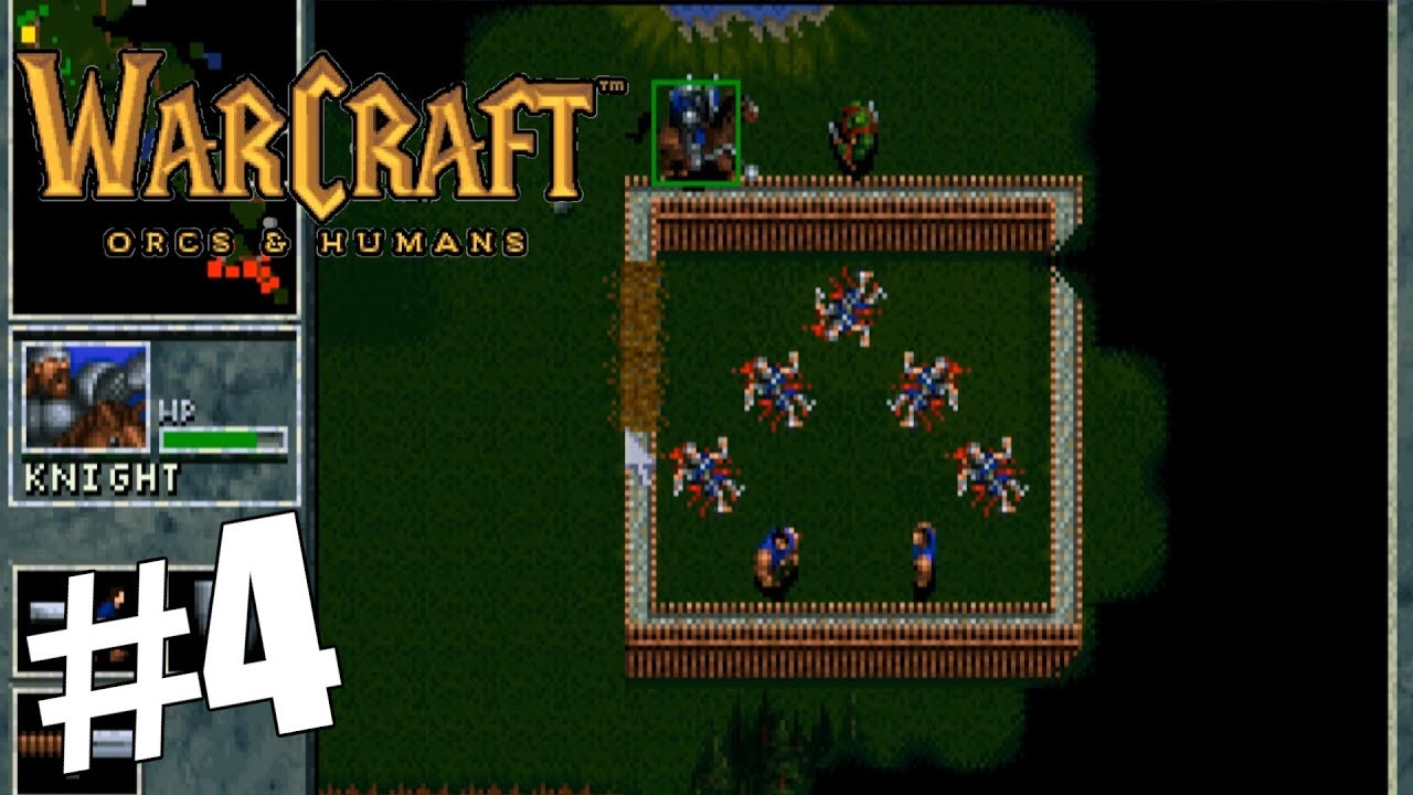 Mission 7 Sunnyglade Warcraft Orcs Humans Gameplay Youtube