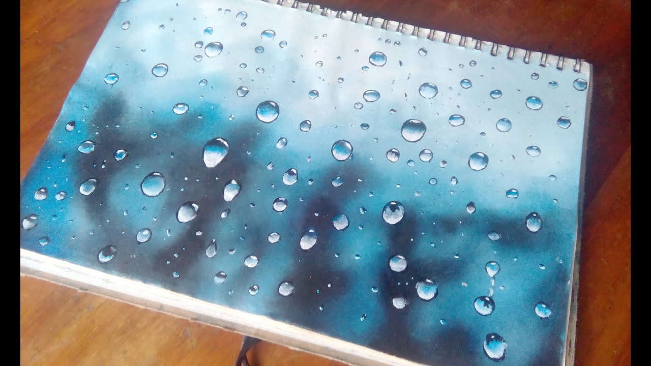 How to paint water drops in acrylics water drops on glass