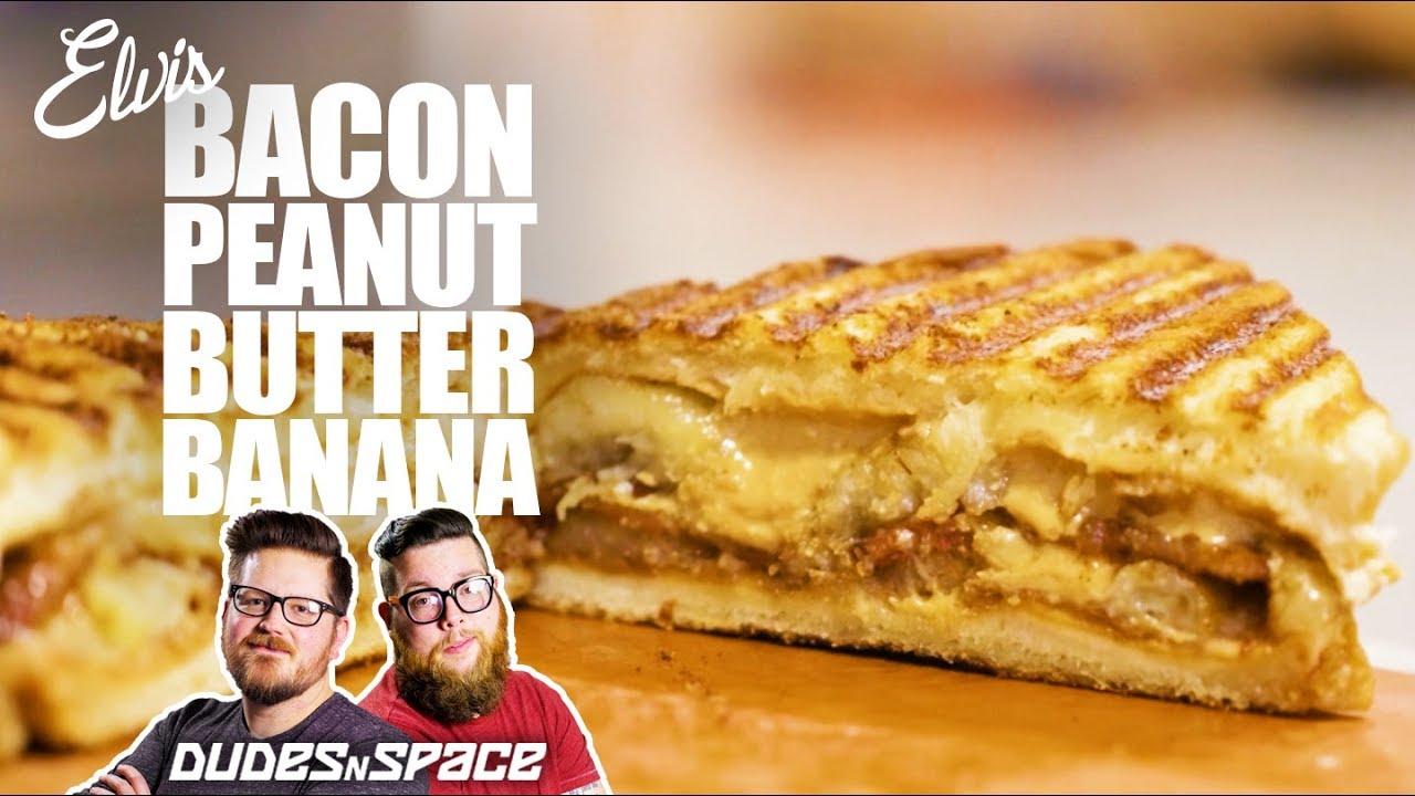 Elvis S Bacon Peanut Butter Banana Sandwich Youtube