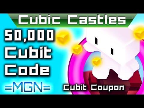 Cubic Castles Coupon Code for 50,000 Cubits!