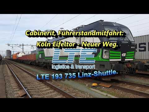 Cabinerit, Führerstandmitfahrt: Köln Eifeltor - Neuer Weg