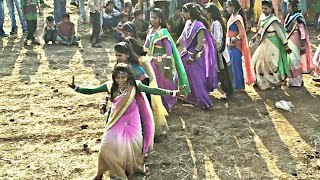 Dhiri_Dhiri_Nach_Taro_Ghagro_Hamal_Female_Dance // Adivasi Dance // Adivasi songs // Arjun R meda