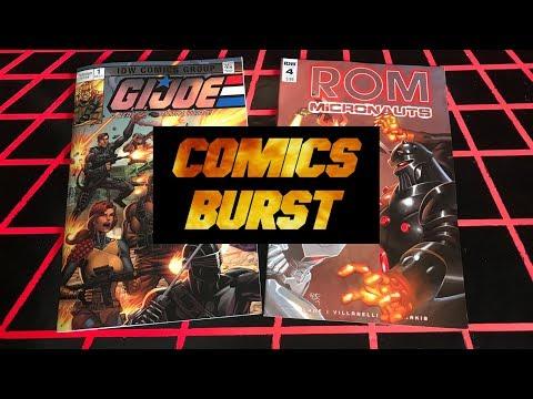 COMICS BURST!! ROM/MICRONAUTS 4 & G.I. JOE ANNIVERSARY 1!!