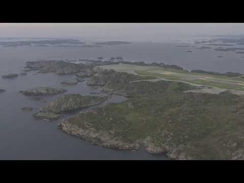 Haugesund, Haraldshaugen, Smeasundet, Risøy, Avaldsnes, Karmøy - Flying Over Norway