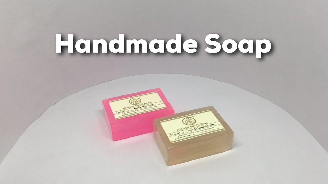 Khadi Natural Handmade Soap Youtube