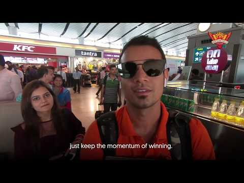 SunRisers Hyderabad   Risers Fly To The Capital For #DCvSRH   VIVO IPL 2019