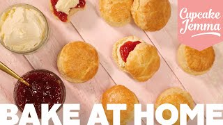 Go-To Recipe for Classic English Scones | Bake At Home | Cupcake Jemma