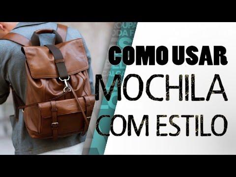 COMO USAR MOCHILA COM ESTILO   TENDÊNCIA MASCULINA - YouTube 461f3710ca
