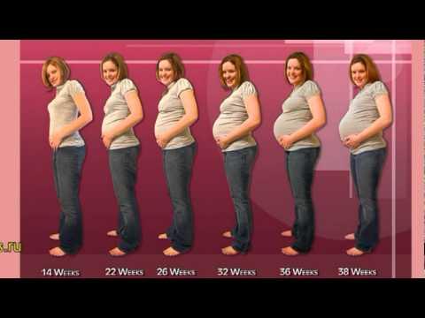 На 6 месяце беременность