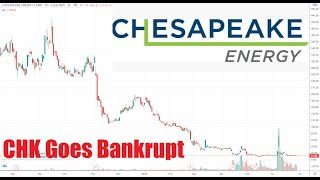 Chesapeake Energy Goes Bankrupt As Natural Gas Prices Near 25 Year Low Chk Stock Analysis