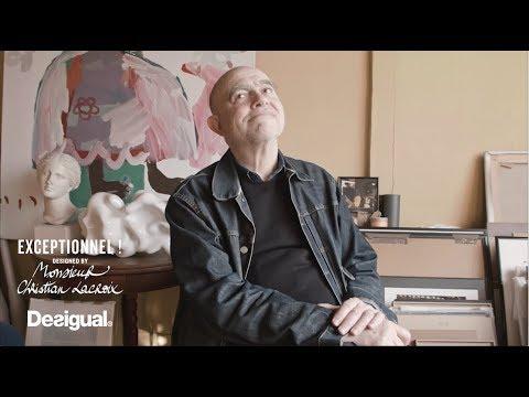 Desigual | Interview with designer Mr. Christian Lacroix 'Exceptionnel au quotidien'