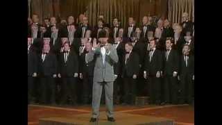 """Treorchy Male Choir singing """"How Great Thou Art"""" with Bryn Yemm"""