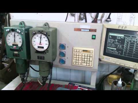 Test legalizacyjny prędkościomierzy Hasler BERN