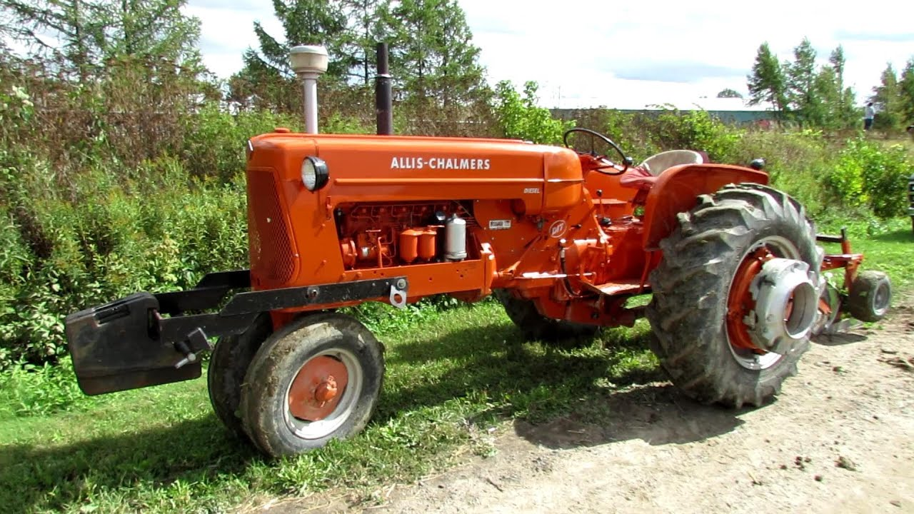 95+ Allis Chalmers Wallpaper - ALLIS CHALMERS IB TRACTOR, 1