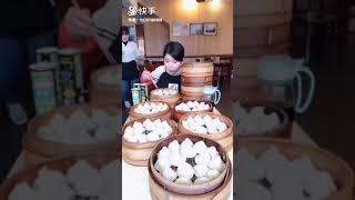 大胃王红姐要10笼小包子,吓呆老板,结果还没饱,又要了5笼!!