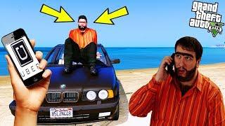 1995 MODEL BMW İLE UBER ŞOFÖRLÜĞÜ! - GTA 5 RECEP İVEDİK UBER ŞOFÖRÜ MODU