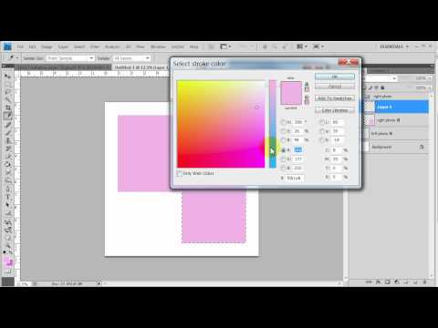 Create your own custom photoshop templates part 1