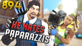 #1 Hanzo ARRGE HATES His PAPARAZZIS!! | Overwatch Daily Moments Ep. 894 (Funny and Random Moments)