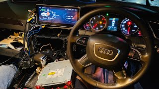 Modified Audi A4 Me Android *Ye Karke Dikhao*