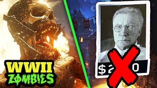 WW2 ZOMBIES REMOVES POINTS SYSTEM! – GOBBLEGUM, WONDER WEAPONS, ZOMBIE TYPES & MORE! (COD WW2)