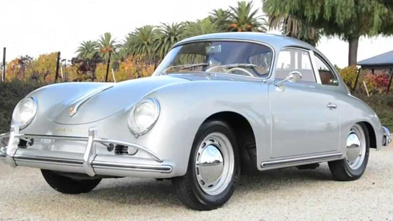 1957 porsche 356 coupe silver youtube. Black Bedroom Furniture Sets. Home Design Ideas