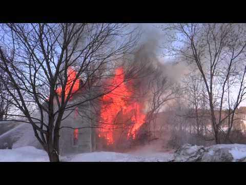 Charlevoix Township Fire Dept. Controlled Burn