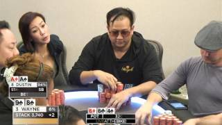 """Live at the Bike $40/$80 LHE - """"89s vs AA"""" - Limit Holdem feat. D22-soso"""
